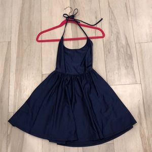American Apparel Navy Dress